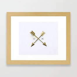 Arrow Framed Art Print