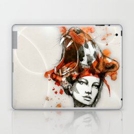 Tora by carographic, Carolyn Mielke Laptop & iPad Skin
