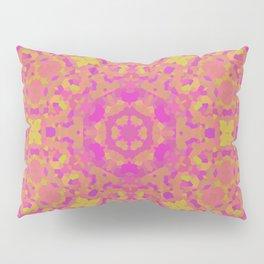 Pink, Orange, and Yellow Kaleidoscope 2 Pillow Sham