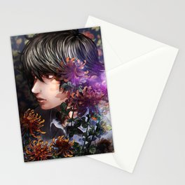 past and language Stationery Cards