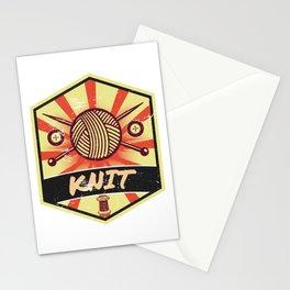 Knitting Propaganda | Knit Wool Hobby Stationery Cards
