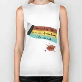 The art of life Biker Tank
