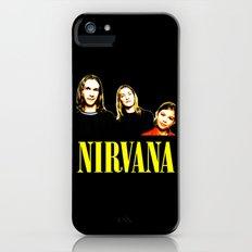 Nirvana Band iPhone (5, 5s) Slim Case