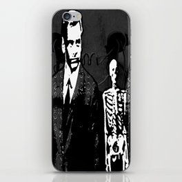 Dr. Hughes And The Skeleton In His Classroom iPhone Skin