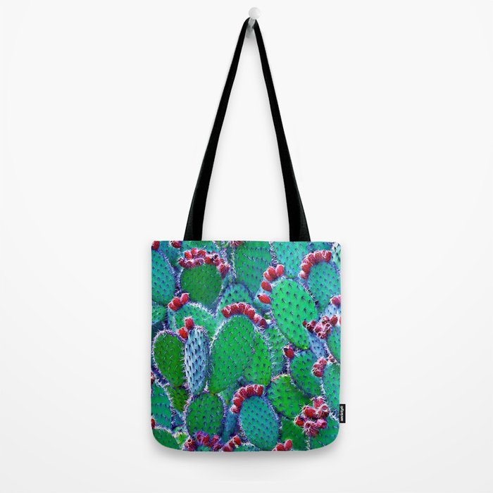 Flowering cacti Tote Bag