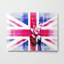 Peace To London Metal Print