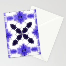 Purple Passion Pattern 3 Stationery Cards