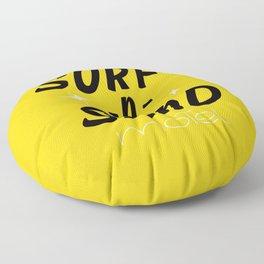 Surf-N-Sand Retro Motel Sign / Mid-Century Americana Floor Pillow