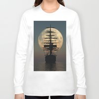 ship Long Sleeve T-shirts featuring Ship by samedia