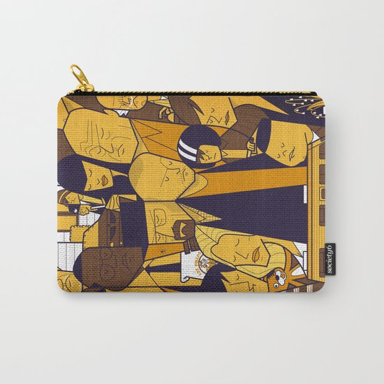 Breaking Bad (yellow version) Carry-All Pouch