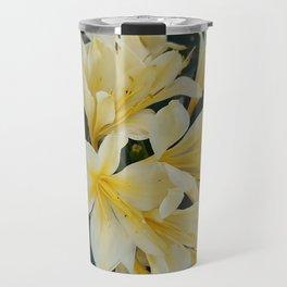 Yellow Clivia Travel Mug