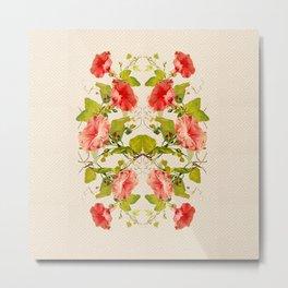 Fleurlis Gloria Lattice Metal Print