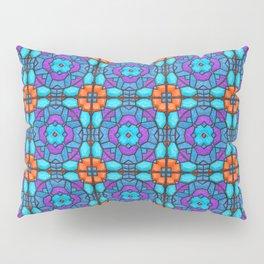 Southwestern Glass Tile Digital Art Pillow Sham