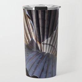 The Scallop sculpture by Maggi Hambling.  Travel Mug
