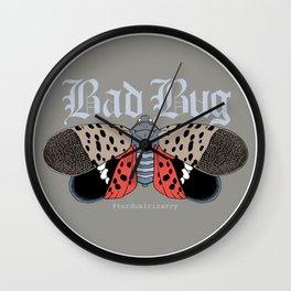 Bad Bug Wall Clock