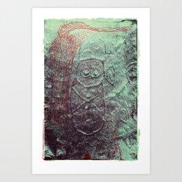 Cueva del Indio Art Print