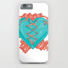 Ribbon Heart iPhone 6s Slim Case