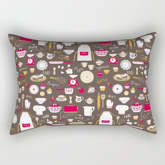 Teatime Treat Rectangular Pillow