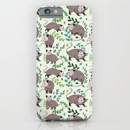 Possums & Plants iPhone Case