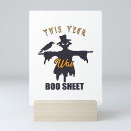 This Year Was Boo Sheet Mini Art Print