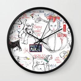 Things on My Mantel #1 Wall Clock
