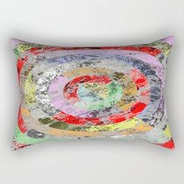 Concentricity Rectangular Pillow