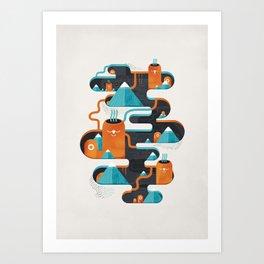 Abyss n°3 Art Print