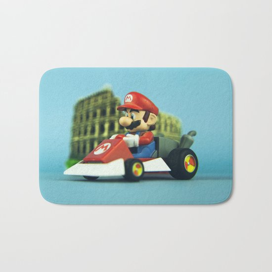 Super Mario: the homecoming Bath Mat