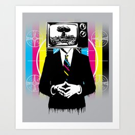 Please Stand By For Total Planetary Destruction Art Print