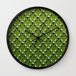 Mod Kelly Green Wall Clock