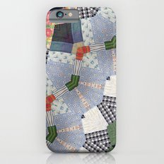 Patchwork Whimsy -- Vintage Block Quilt Mandala Kaleid0scope iPhone 6s Slim Case