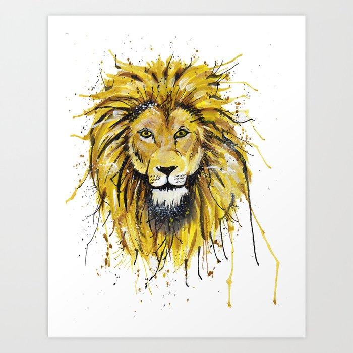 Lionish Art Print