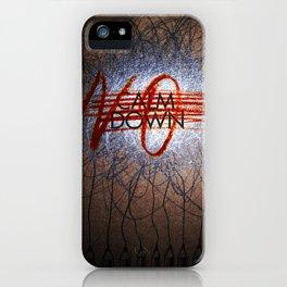 Calm DowNO! iPhone Case