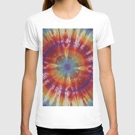 Tie Dye Circle Rainbow T-shirt