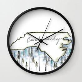 Cackalacky. Wall Clock