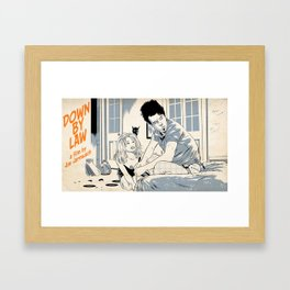 Down By Law Framed Art Print
