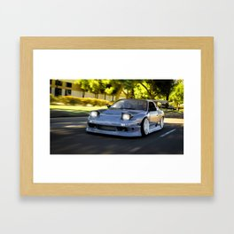Bump & Grind Framed Art Print
