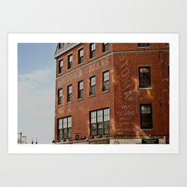Bostonia Cigars Art Print
