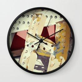 Aha Wall Clock