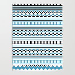 Tribal Scarf Poster