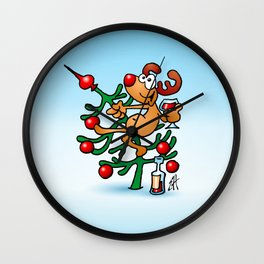 Rudolph the Red Nosed Reindeer Wall Clock