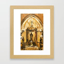 Chapel Framed Art Print