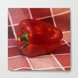 Red Pepper Metal Print