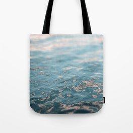 Sunset Water Tote Bag