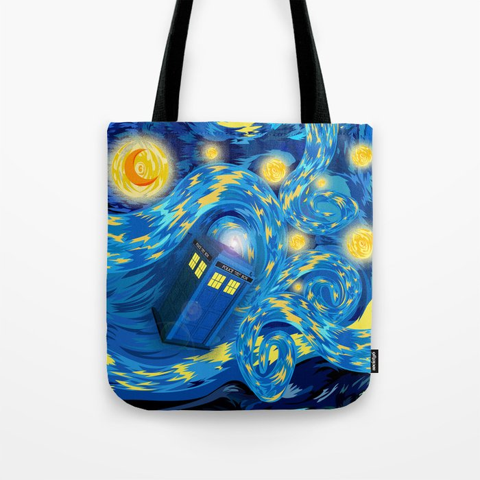 Blue Phone box Starry the night iPhone 4 4s 5 5c 6, pillow case, mugs and tshirt Tote Bag