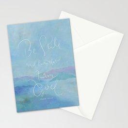 Be Still - Psalm 46:10 / Ocean Stationery Cards