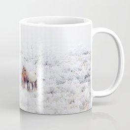 Two Winter Horses Coffee Mug