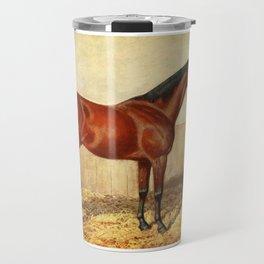 Vintage Stabled Horse Illustration (1905) Travel Mug