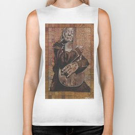 Willie's Guitar Biker Tank