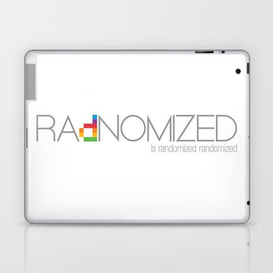RAdNOMIZED Logo Laptop & iPad Skin